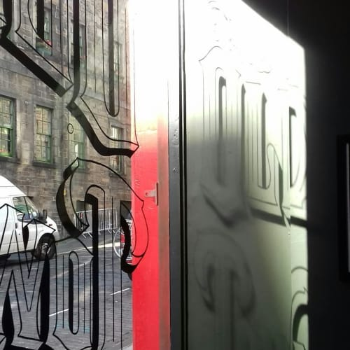 Old Town Tattoo Signage | Signage by Journeyman Signs (TATCH) | Old Town Tattoo in Edinburgh