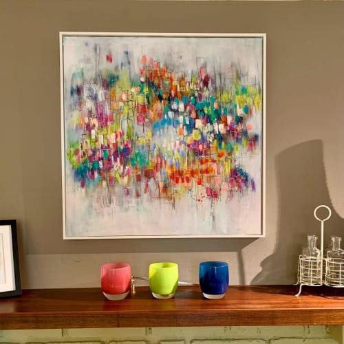 Paintings by Lesley Boost seen at Private Residence, Seattle - Welcome To Fabulous