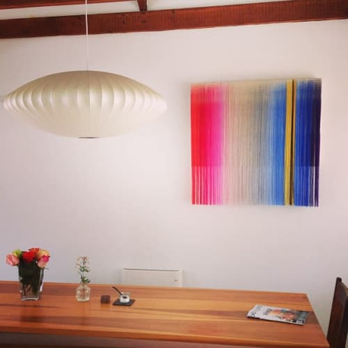 Macrame Wall Hanging by Nike Schroeder Studio seen at Private Residence, Los Angeles - Fiber Art