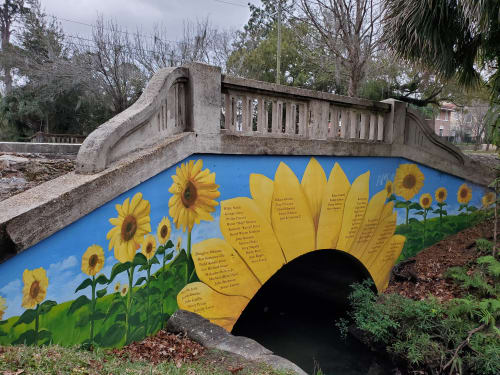 Public Art by Keith Doles seen at Willowbranch Park, Jacksonville - Serenity