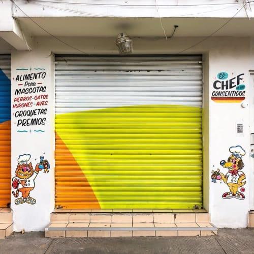 Signage by Well Done Signs seen at El Chef de los consentidos, Ciudad de México - Wall Art Signage