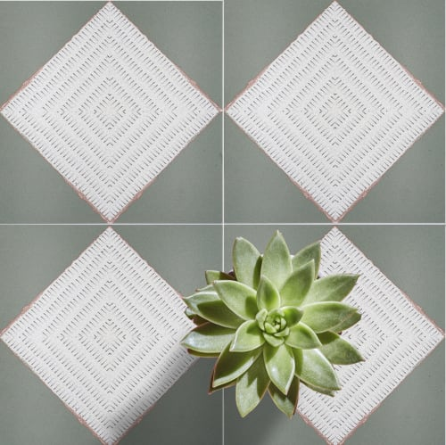 Tiles by LIVDEN seen at San Diego, San Diego - TIGER STRIPES collection