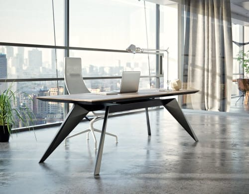 Tables by Dymitr Malcew seen at Private Residence, New York - Desk