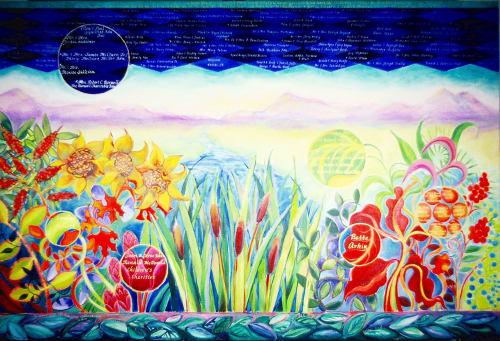 Paintings by Judith Joseph seen at 120 S Marion St, Oak Park - Flourishing Community