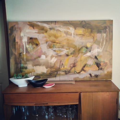 Paintings by Carolyn O'Neill seen at Private Residence, Port Pirie - Untitled - Oil On  Canvas
