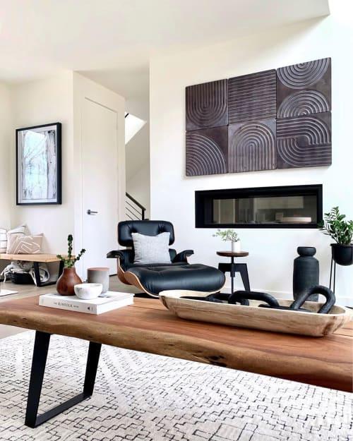Wall Hangings by House Van Holland seen at Simply Modern Living, Grand Rapids - KARVD Wood Wall Art