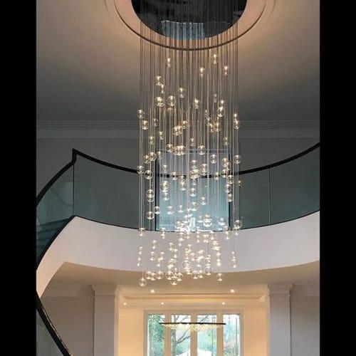Pendants by ILFARI seen at Private Residence, Beek en Donk - Ballroom pendant light