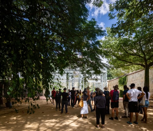 Architecture by FGP Atelier seen at Jardín Etnobotánico de Oaxaca, Oaxaca de Juárez - Orchid Educational Pavilion