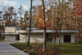 Architecture by Mjölk architekti seen at Private Residence, Liberec - The Forest Villa