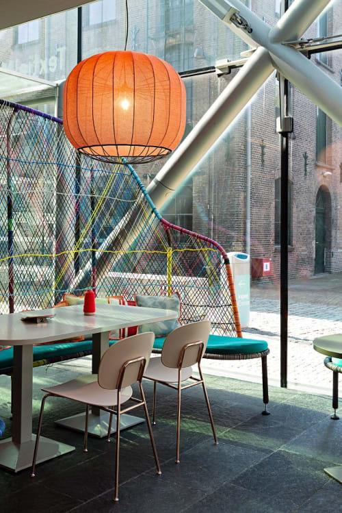 Lighting Design by Studio Rik ten Velden seen at Textile Museum, Tilburg - Urchin Pendant Lamp