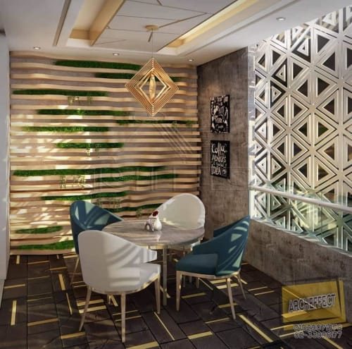 Interior Design by Archeffect Interiors and Finishing seen at Arabian Cafe - Cafe & Restaurant Interior Design