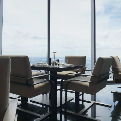 Chairs by Louis Interiors Inc. seen at Four Seasons Hotel Philadelphia at Comcast Center, Philadelphia - Dining Chairs