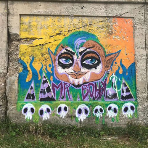 Street Murals by N.Susta.Art seen at Chicago, Chicago - Svengoolie