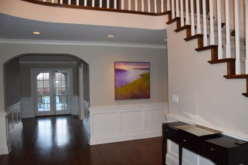 Paintings by Victoria Veedell seen at Private Residence - Waiting for Evening, oil on canvas