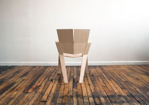 Chairs by Reed Hansuld at Reed Hansuld Fine Furniture, Brooklyn - Origami Chair