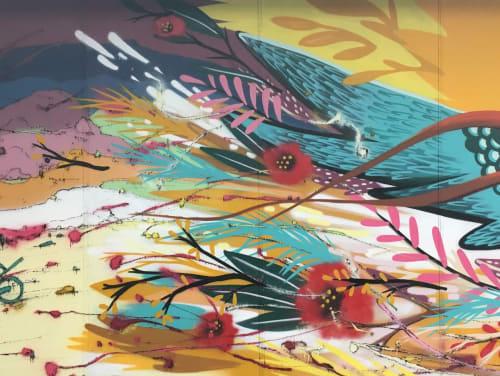 Mural | Murals by Julieta XLF | Centro Comercial Plaza de los Cubos in Madrid