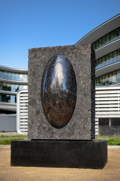 Public Sculptures by Cliff Garten seen at Apple Central And Wolfe Campus, Sunnyvale - Laris