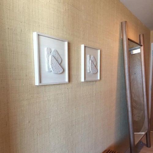 Sculptures by Morgan Peck seen at Santa Monica Proper Hotel, Santa Monica - Texture Study