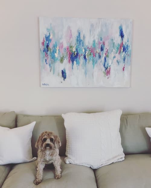 Paintings by Brittany Rawls Art seen at Private Residence, Raleigh - Abstract Painting
