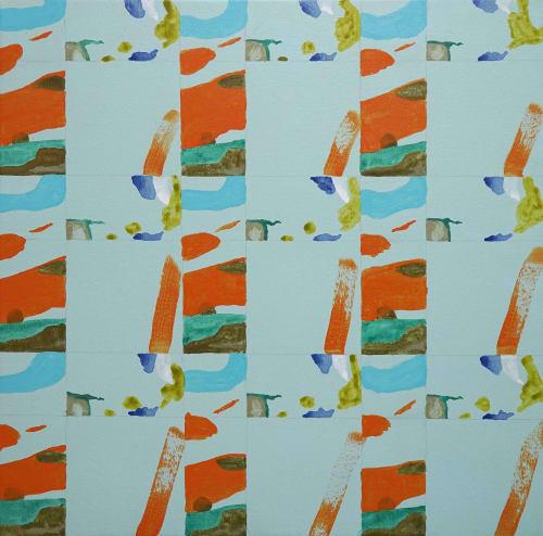 Paintings by Wendy Grace seen at Creator's Studio, Melbourne - flight of phoenix