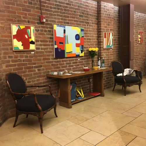 Art Curation by Francesca Saveri seen at 706 Sansome St, San Francisco - SF Open Studios 2019