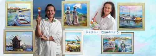 Kselma Randvald - Paintings and Art