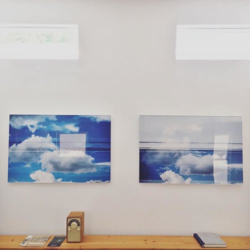 Photography by LéAna Clifton seen at 105 Lincoln, Marfa - Cloud Train