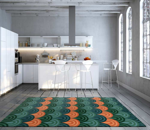 Rugs by Lucy Tupu Studio seen at Private Residence, New York - Oriental Bay - Rug