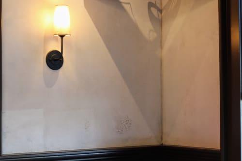 Wall Treatments by EMILY POPE HARRIS ART seen at Henri's Bakery & Deli, Atlanta - Custom Plaster Wall