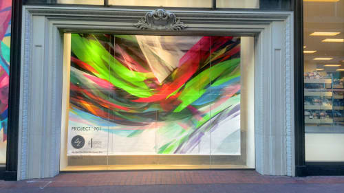 "Art & Wall Decor by Mike Bam Tyau seen at 901 Market St, San Francisco - ""Summer Wave"""
