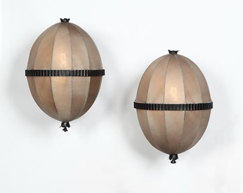 Lamps by Woka Lamps Vienna seen at Berkeley, CA, Berkeley - Josef Hoffmann & Wiener Werkstaette  Moldauer