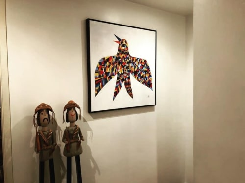 Paintings by Fefe Talavera seen at Private Residence - Bird