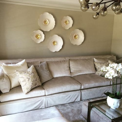 Art & Wall Decor by Lucrecia Waggoner at Private Residence, Dallas - Lotus