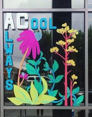 Street Murals by Liz Richter seen at AC Hotel by Marriott Louisville Downtown, Louisville - AC-Always Cool Window Collage