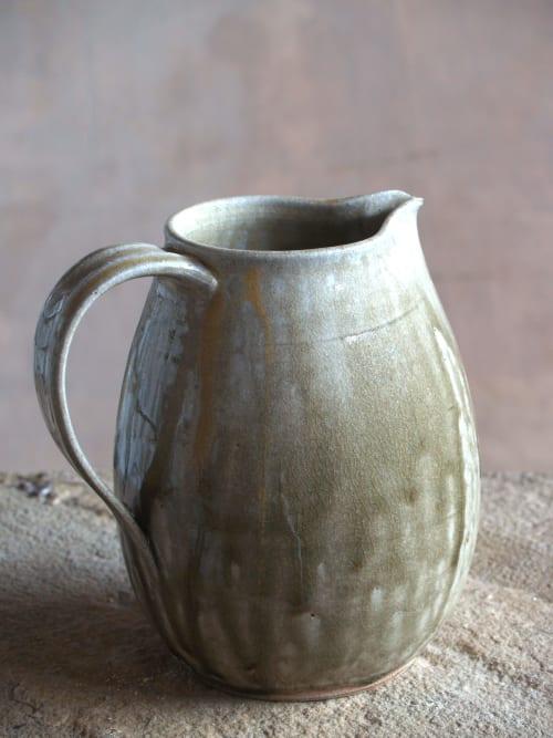 Ceramic Plates by Manuele Parati Ceramiche seen at Creator's Studio, Madignano - water jug