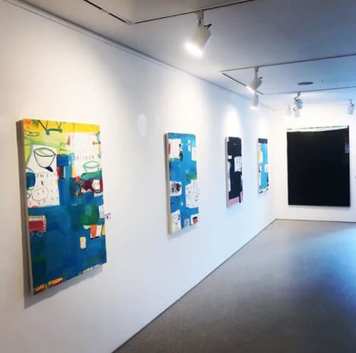 Art Curation by Andrew Weir / Agnostic Forms seen at 63, Yanghwa-ro 3-gil - Hidden Stories - Solo Exhibition 2019