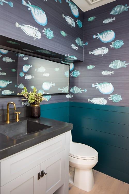 Interior Design by Erica Bryen Design seen at Newport Beach, Newport Beach - Lido House Hotel