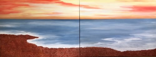 Paintings by Benna Holden seen at Private Residence, Hoboken - Drift Away