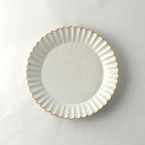 Ceramic Plates by Marumitsu Poterie seen at Westward Home, Larkspur - Barbarie 21 plate