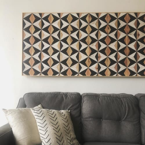Wall Hangings by Nicole Sweeney seen at Private Residence, San Francisco - Cat Eye Wall Hanging