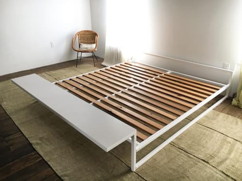 Beds & Accessories by Noevara seen at Creator's Studio, Philadelphia - Bed with floating bench