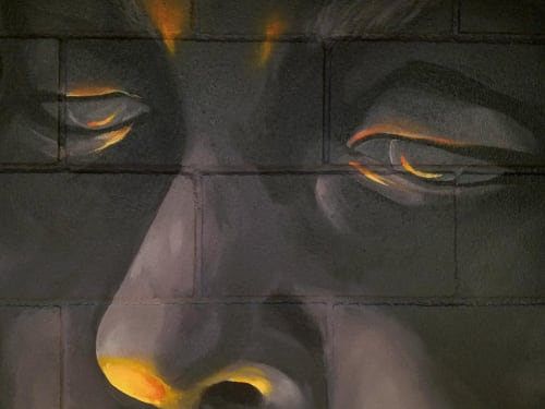 Murals by Aerica Raven Van Dorn seen at Sky Candy, Austin - Hyrrokkin's Blessing