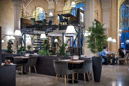 Interior Design by Szabó Attila Goodroom Harmony seen at Vígvarjú Étterem, Budapest - VígVarjú restaurant