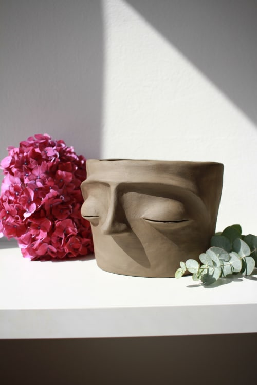 Vases & Vessels by Terra Humida seen at Private Residence, Barcelona - Bomo pottery