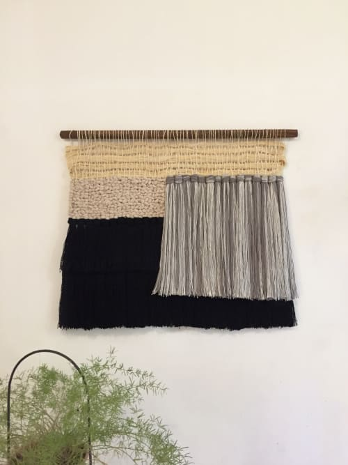 Wall Hangings by ORIS DESIGN seen at Selina Cuenca, Cuenca - Wall hanging con paja toquilla