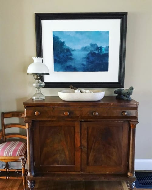 Paintings by Cameron Schmitz seen at Private Residence, Nashville - From this Place