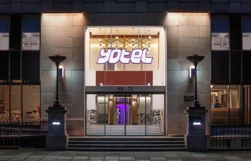 Architecture by Fletcher Joseph Associates seen at YOTEL Edinburgh, Edinburgh - Architecture