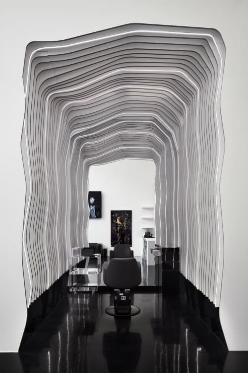 Architecture by FGP Atelier seen at Los Angeles, Los Angeles - Ted Gibson LA Salon