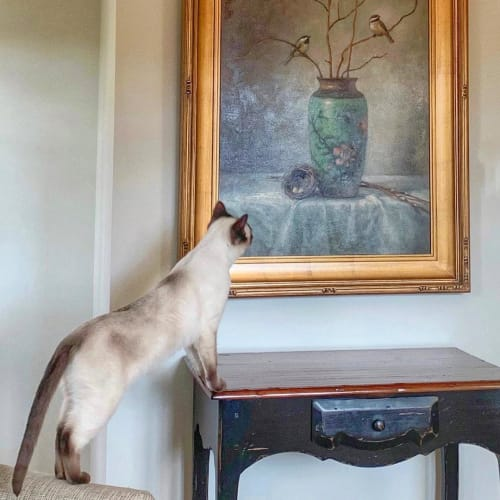 """Paintings by Lori McNee seen at Private Residence, St. George - """"Early Spring"""" Painting"""