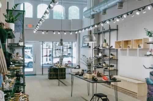 Interior Design by 4Walls Interior Design seen at Benjamin Lovell Shoes, Philadelphia - Benjamin Lovell